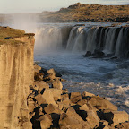 Selfoss is much lower but broader