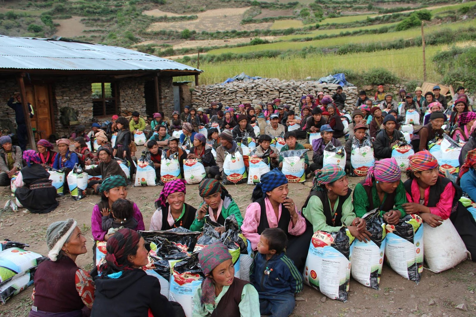 Tsum residents receive aid