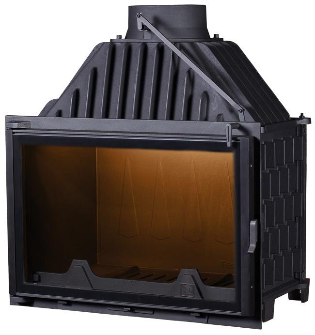 PANTHERM 80 RAVNI BLACK LINE lateral dim.800x550 promjer dimovodne cijevi: fi200 težina ložišta:179 kg