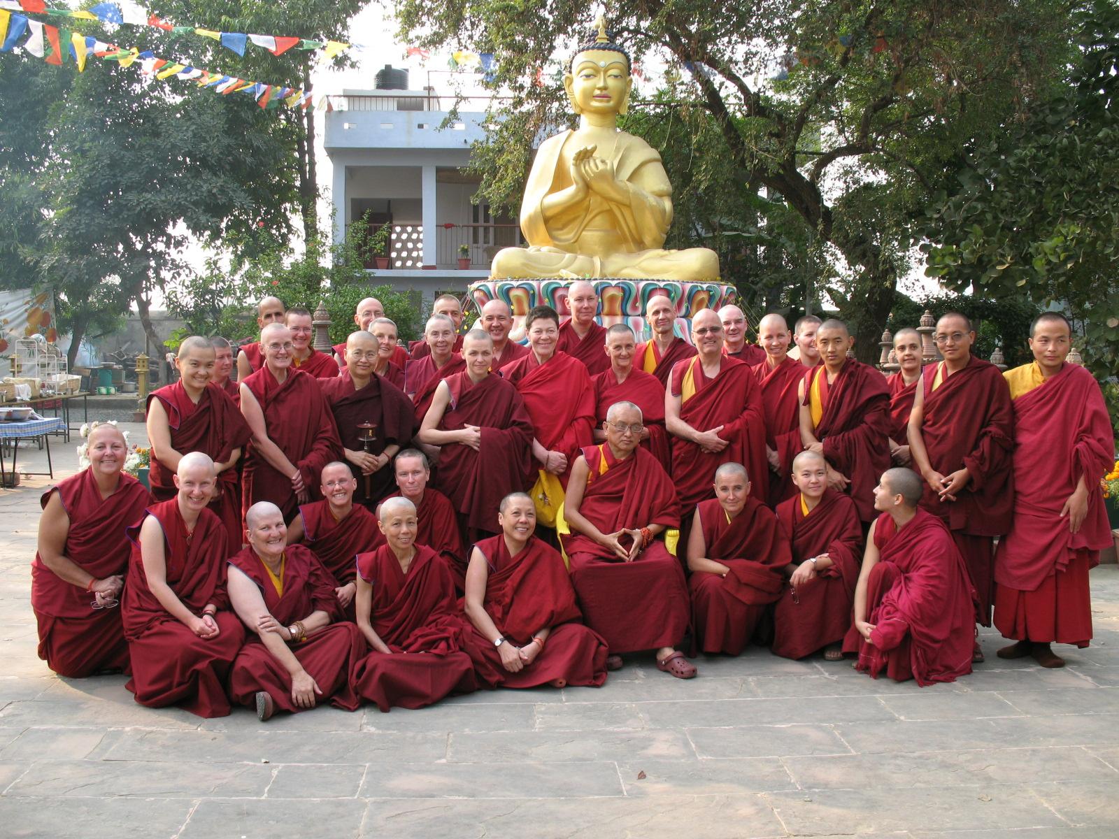 supposting the IMI Sangha