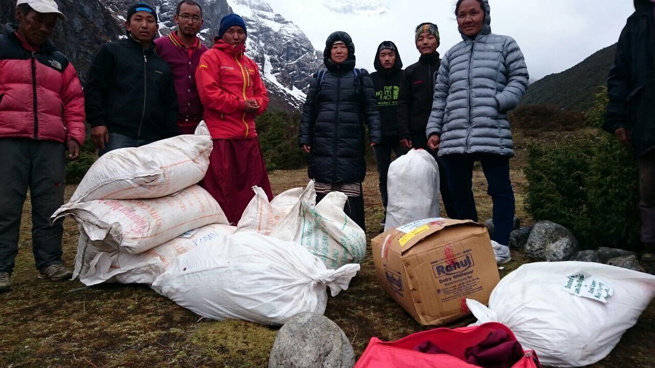 People of Solu Khumbu. Photo by Charok Lama.