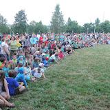 U slavnostního zahájení se na jednom místě schází skoro tisíc pionýrů