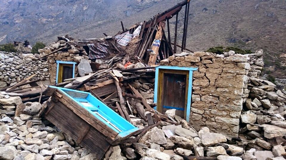 Solu Khumbu damage. Photo by Charok Lama.
