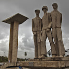 WW2 monument in Rio - many Brazilian soldiers went to Europe to help fighting nazis