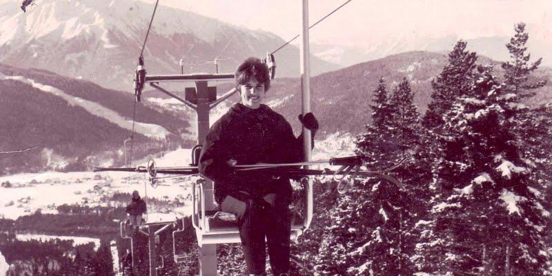 Feather Meston, Switzerland, 1960