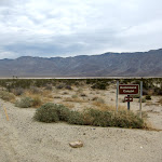 The entrance to Rockhouse Canyon in Anza Borrego