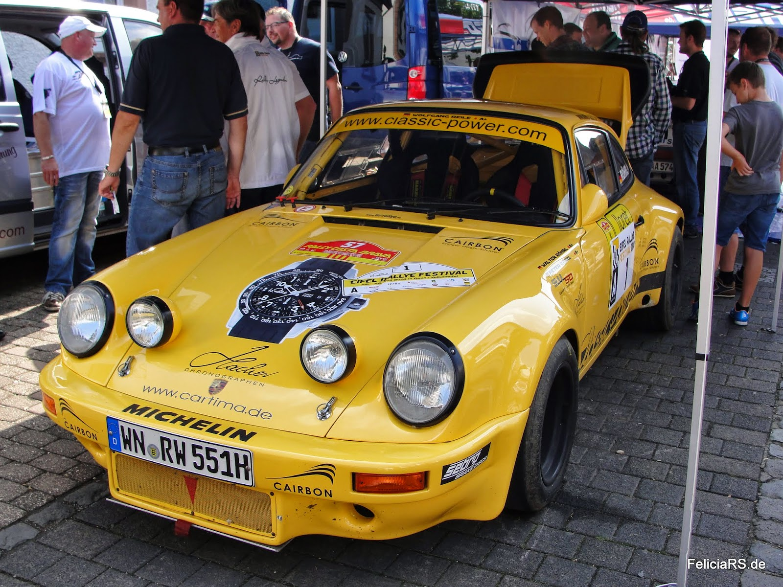 Rallye Porsche von Walter Röhrl