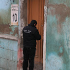 The new policemen (old corrupt police were dismissed by Saakashvili)