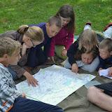 Den 6. (čtvrtek 9. 7.) - učíme se orientaci v terénu