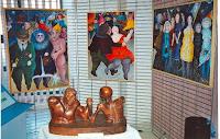 Michel Henocq, Michel Guet 05 Expo Hall du Crédit Agricole 1995 Cossé