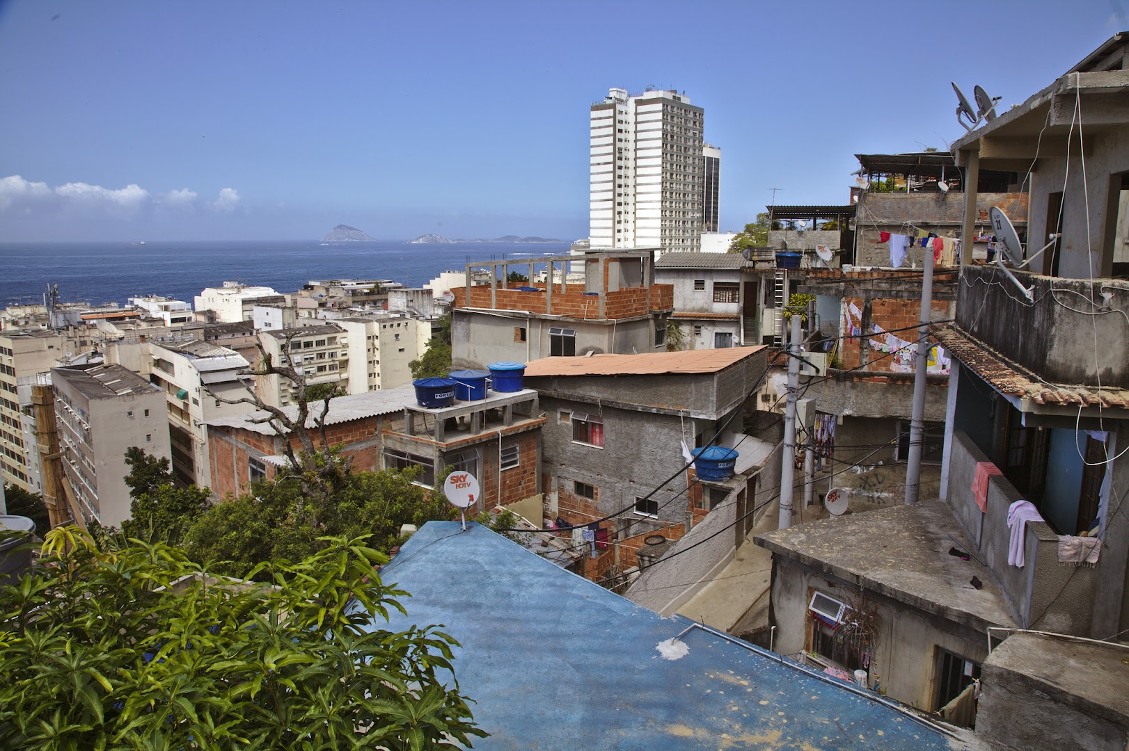 "We stayed in a ""safe"" favela, near by Copacabana"