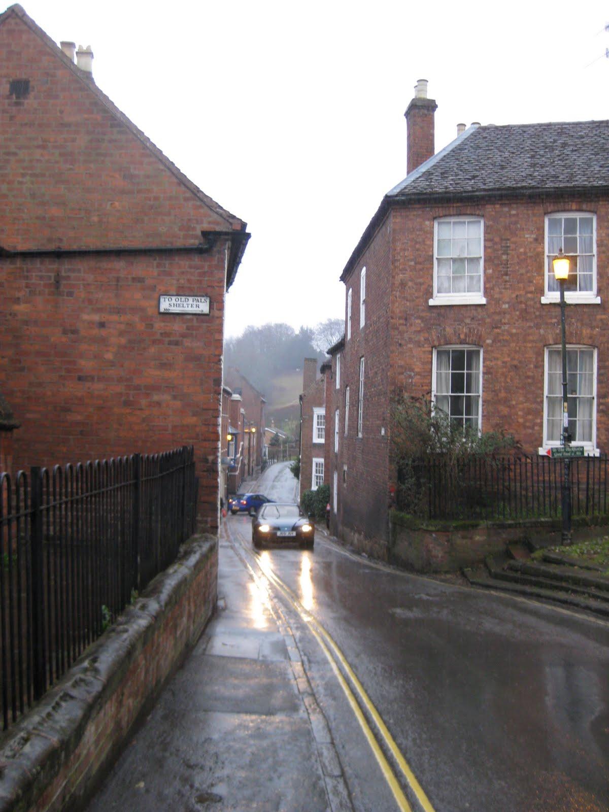 Narrow streets in Bewdley
