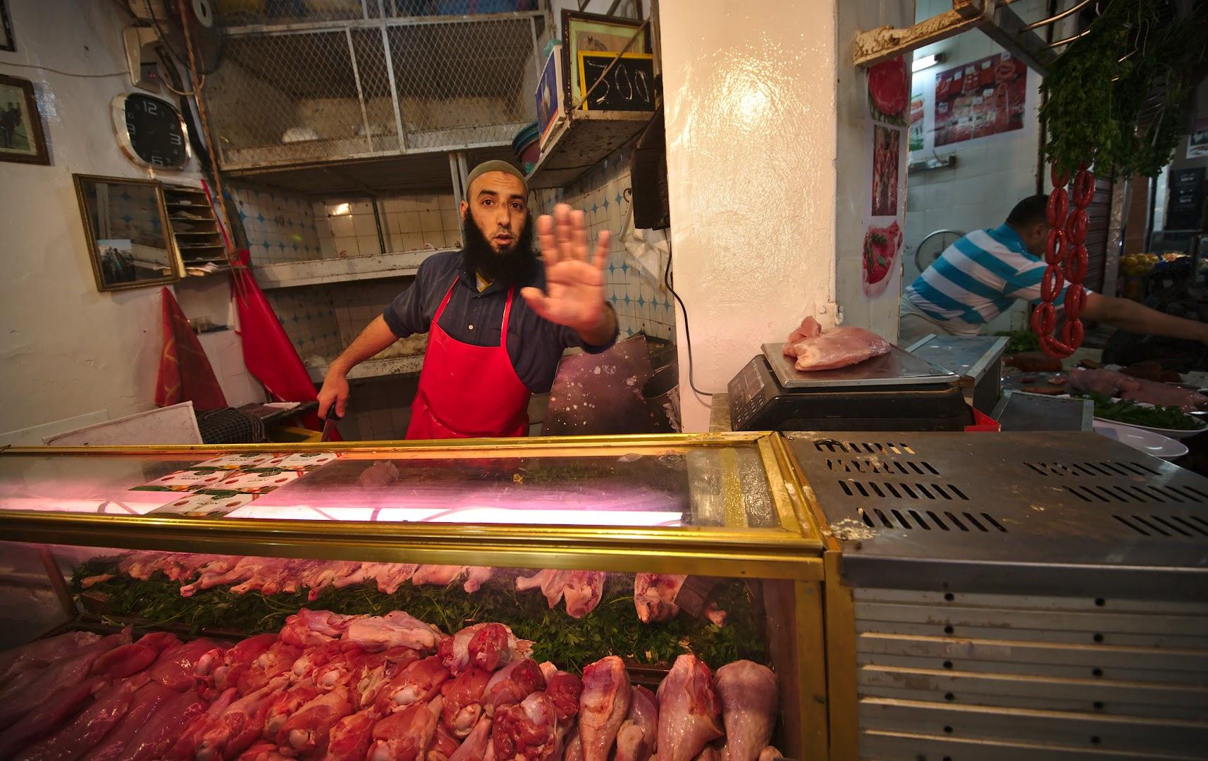 Bazaar merchants don't like to be photographed