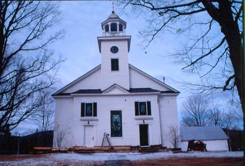 Universalist Church in South Strafford, VT.