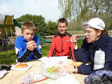 Picnic lunch at Epeigne-sur-Deme