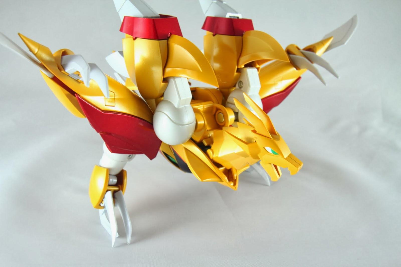 不過這種型態才是真正的姿態就是 但龍的脖子好短........氣勢好弱