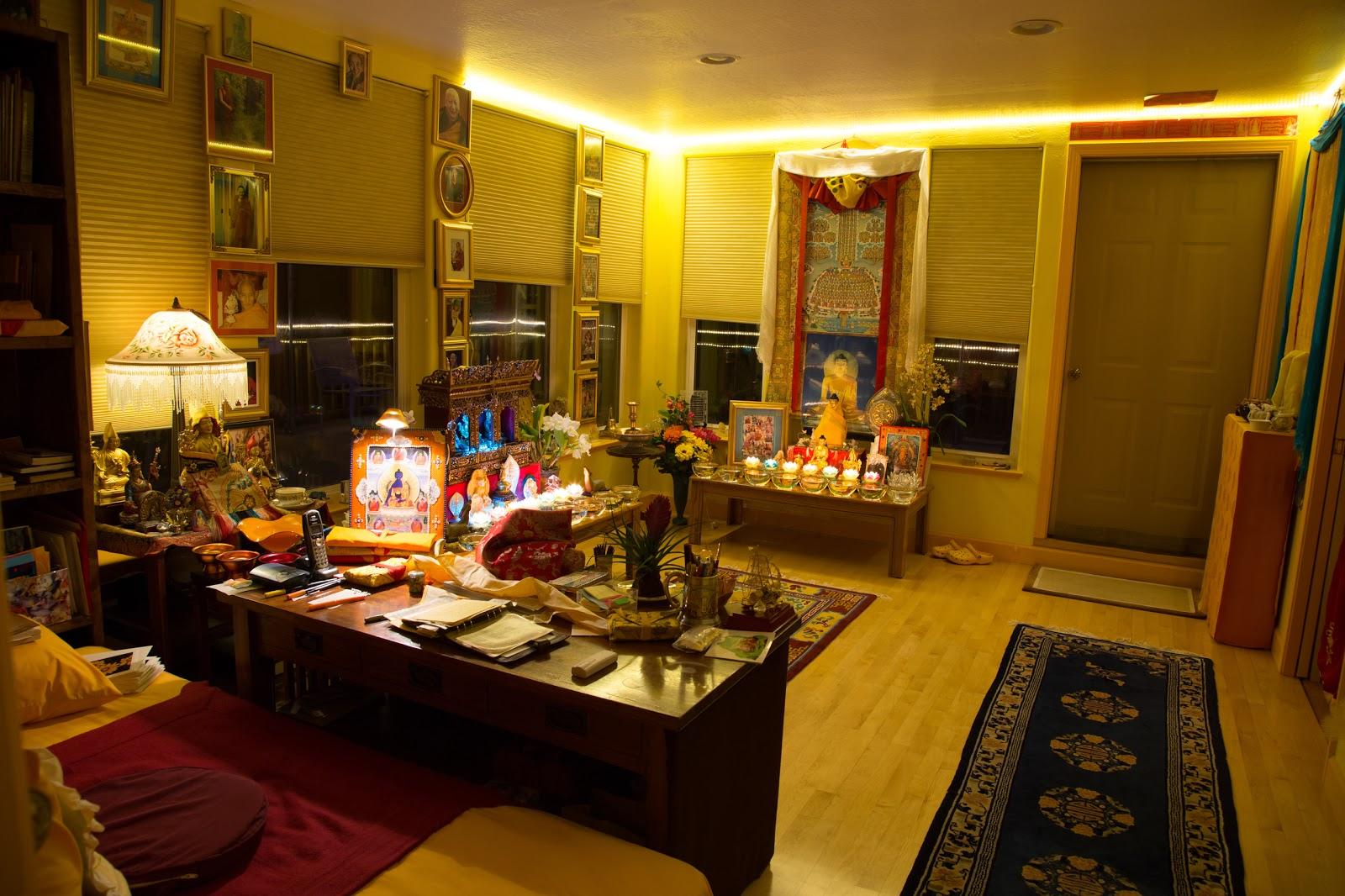 Prajnaparamita room. Photo by Ven. Thubten Kunsang.