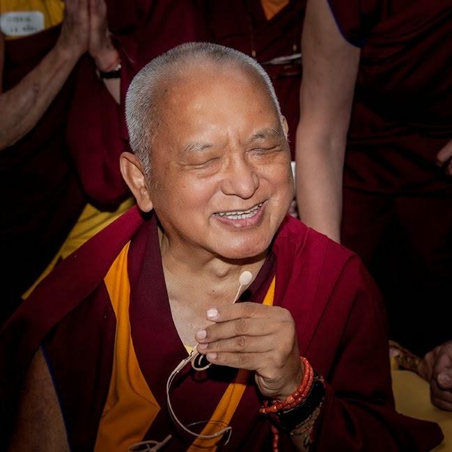 Lama Zopa Rinpoche, Istituto Lama Tzong Khapa, Pomaia, Italy, June 17, 2014. Photo by Sirianni.