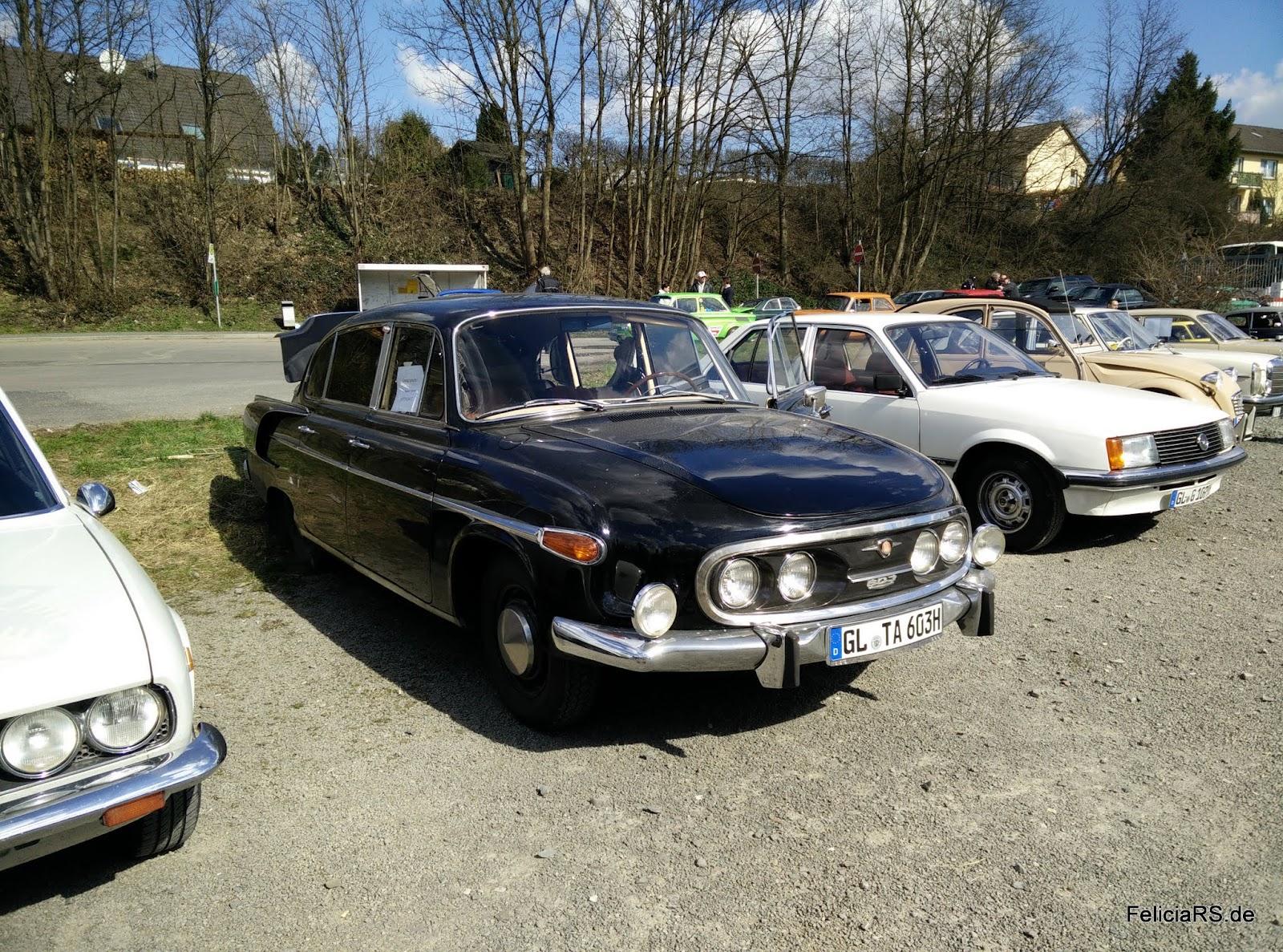 Ein Traum: Tatra 603 nach 7 Jahren Restauration wieder auf der Straße