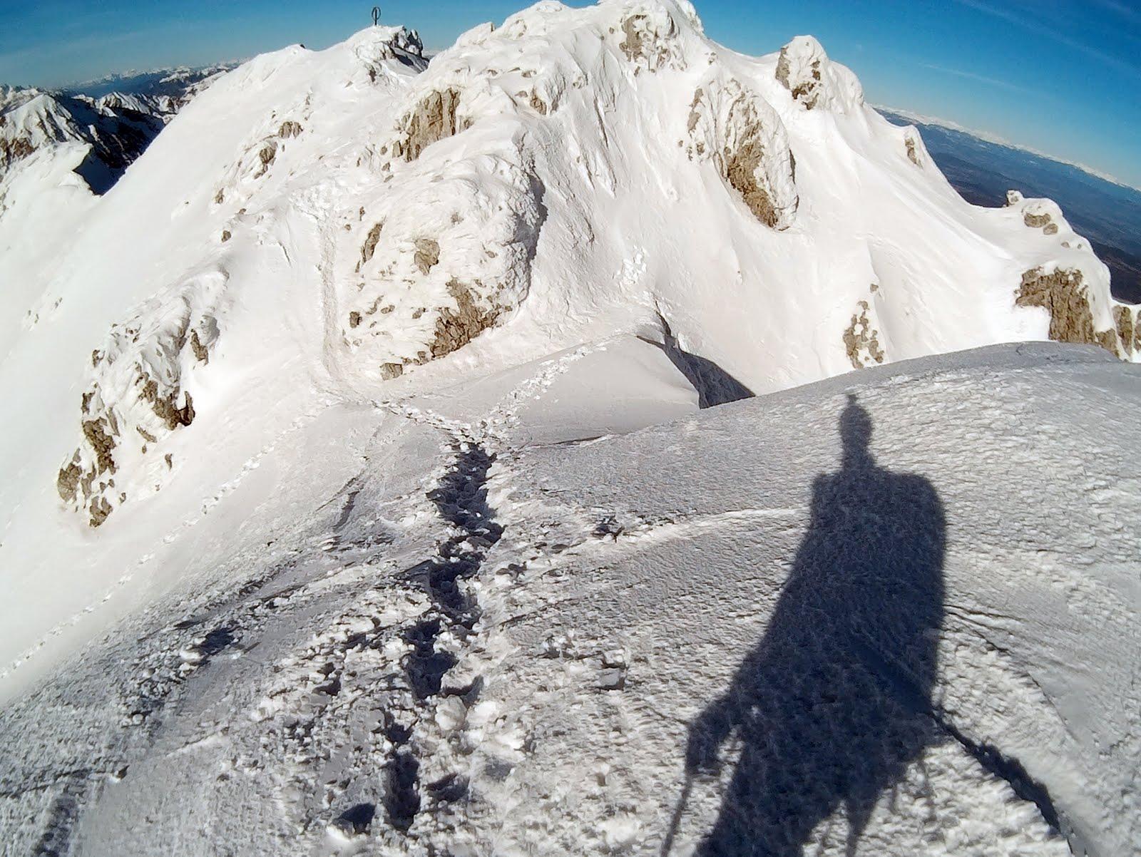 Dok čekam Pegija, idem se prošetati do vrha