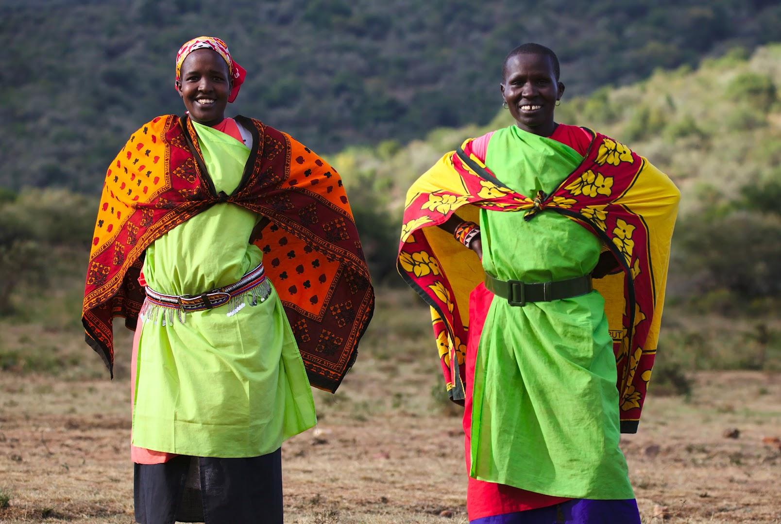 Colorful ladies