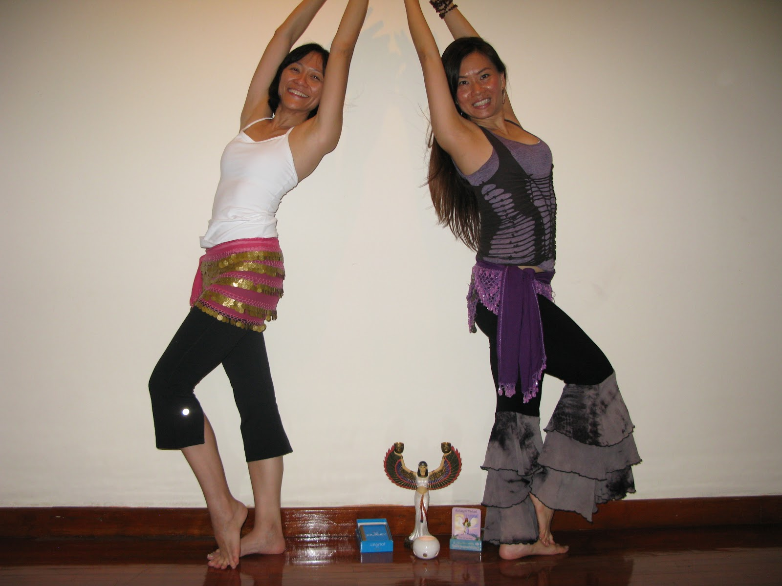 Private Dance Coaching (1on1) at Gallery Helios - prepp'g Sharon Wong for her Morocco' Moon Party Trip!!