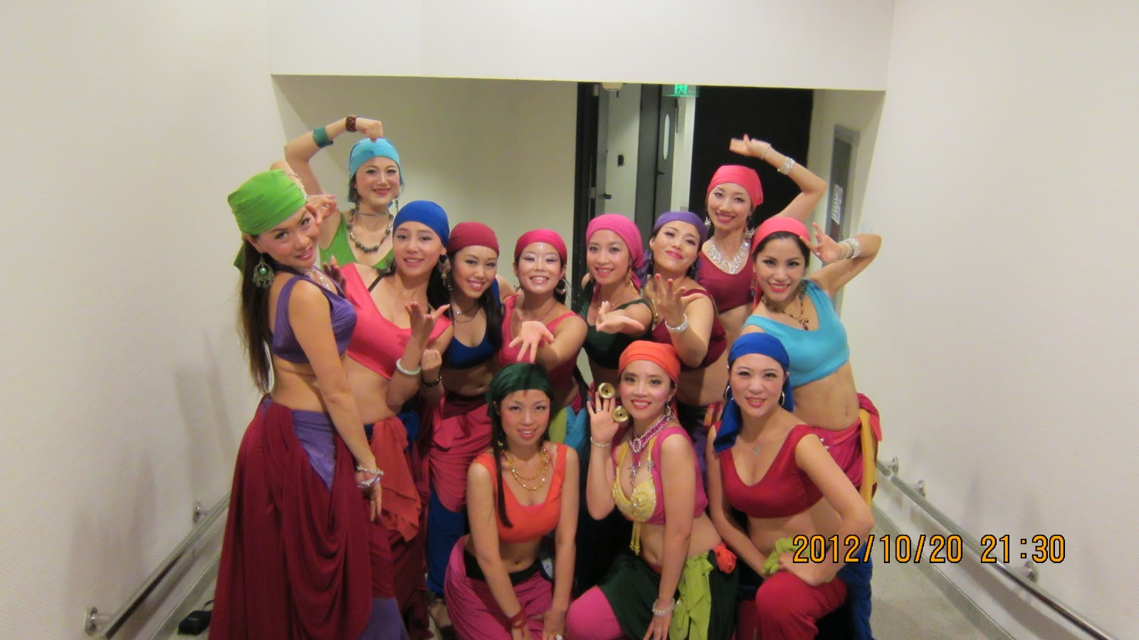 Showtime - 20Oct'2012 (Backstage) Shanghai Oriental Art Theatre (Dance Bootcamp with Tamalyn Dallah)