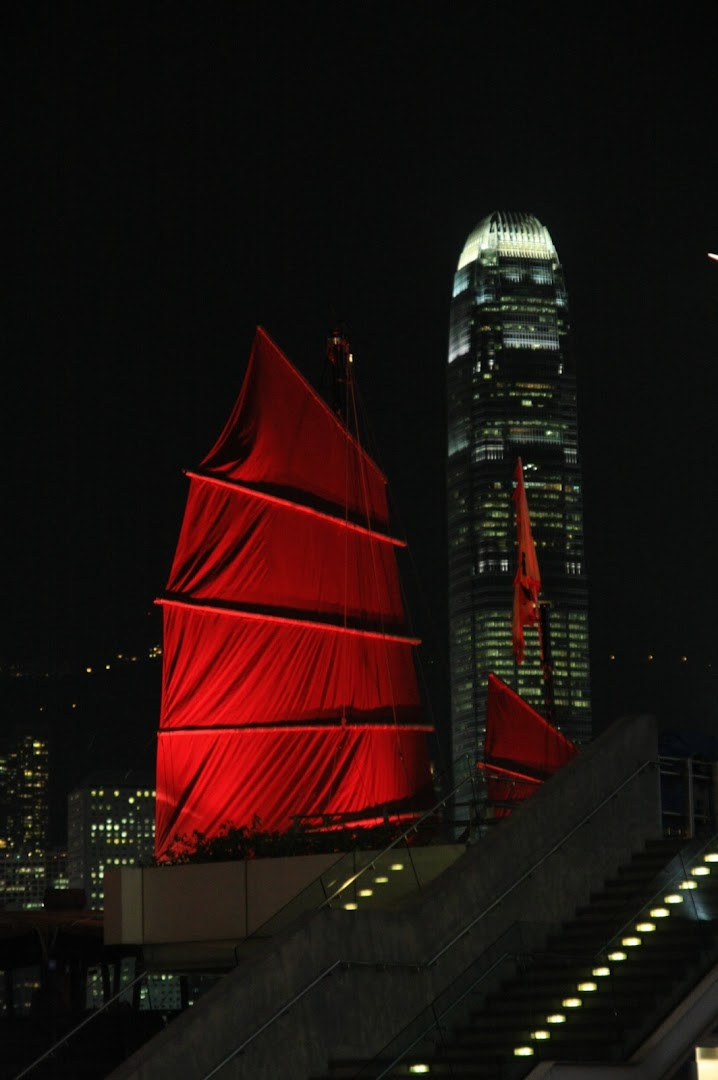 The only junk boat left in Hong Kong