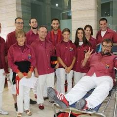Pilar i donació a la Marató de Donació de sang  24-09-14