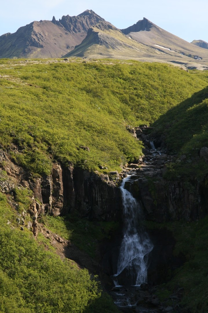 Another Skaftafell waterfall