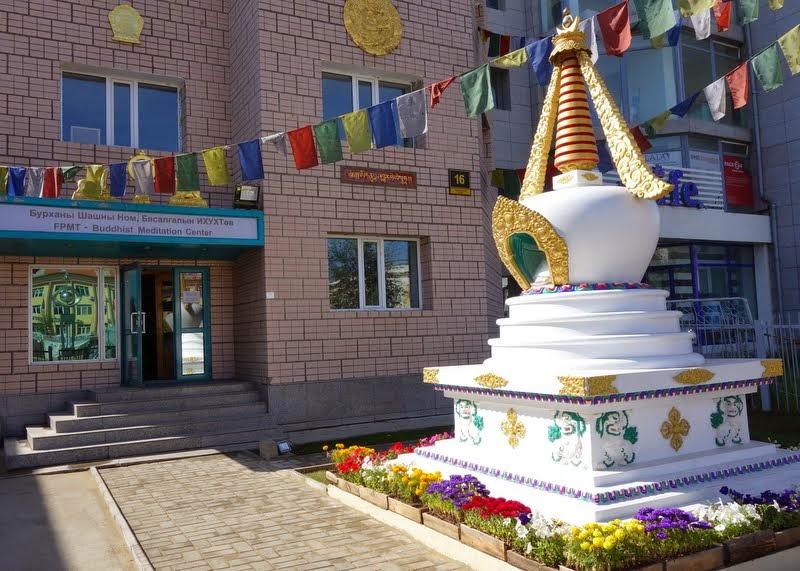 Ganden Do Ngag Shedrup Ling, Ulaanbaatar, Mongolia, August 2014. Photo by Ven. Roger Kunsang.