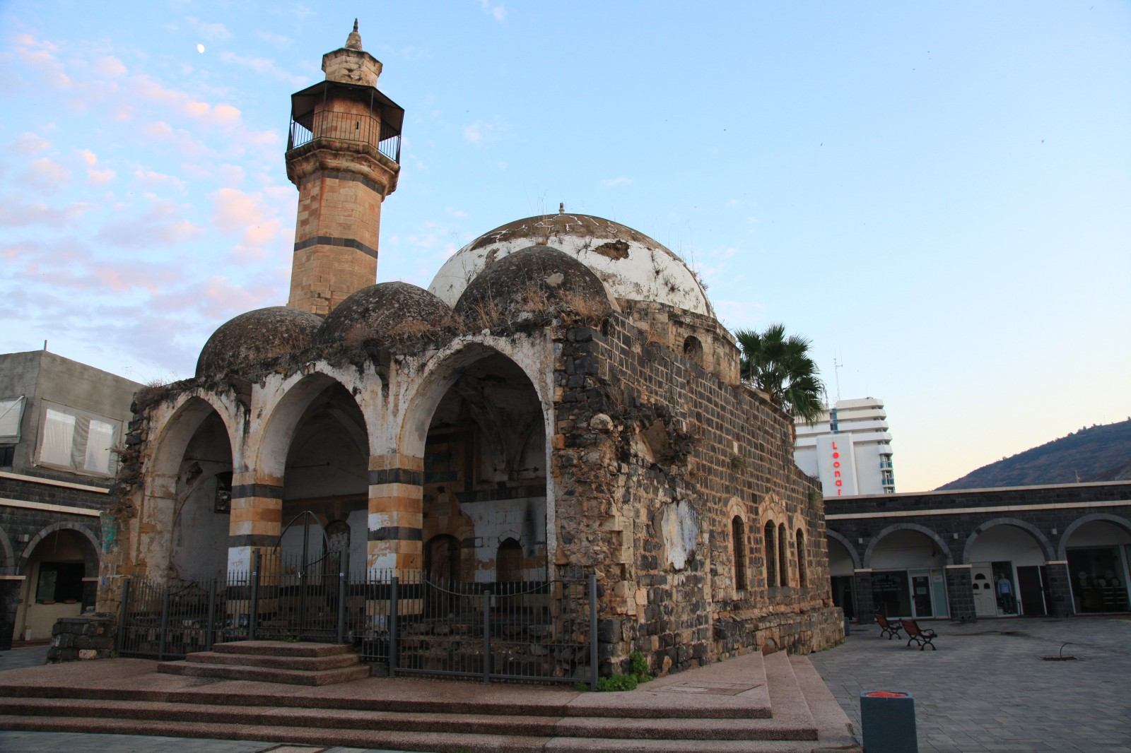 Abandoned mosque in Tiberias