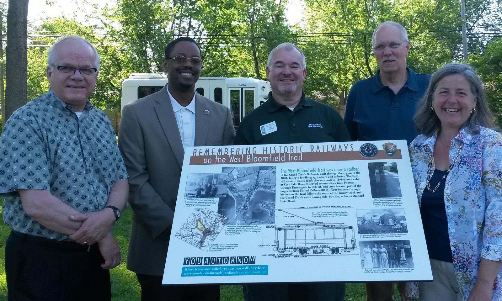 Event 2014: Motor Cities Heritage, Wayside Exhibit Signs Dedication