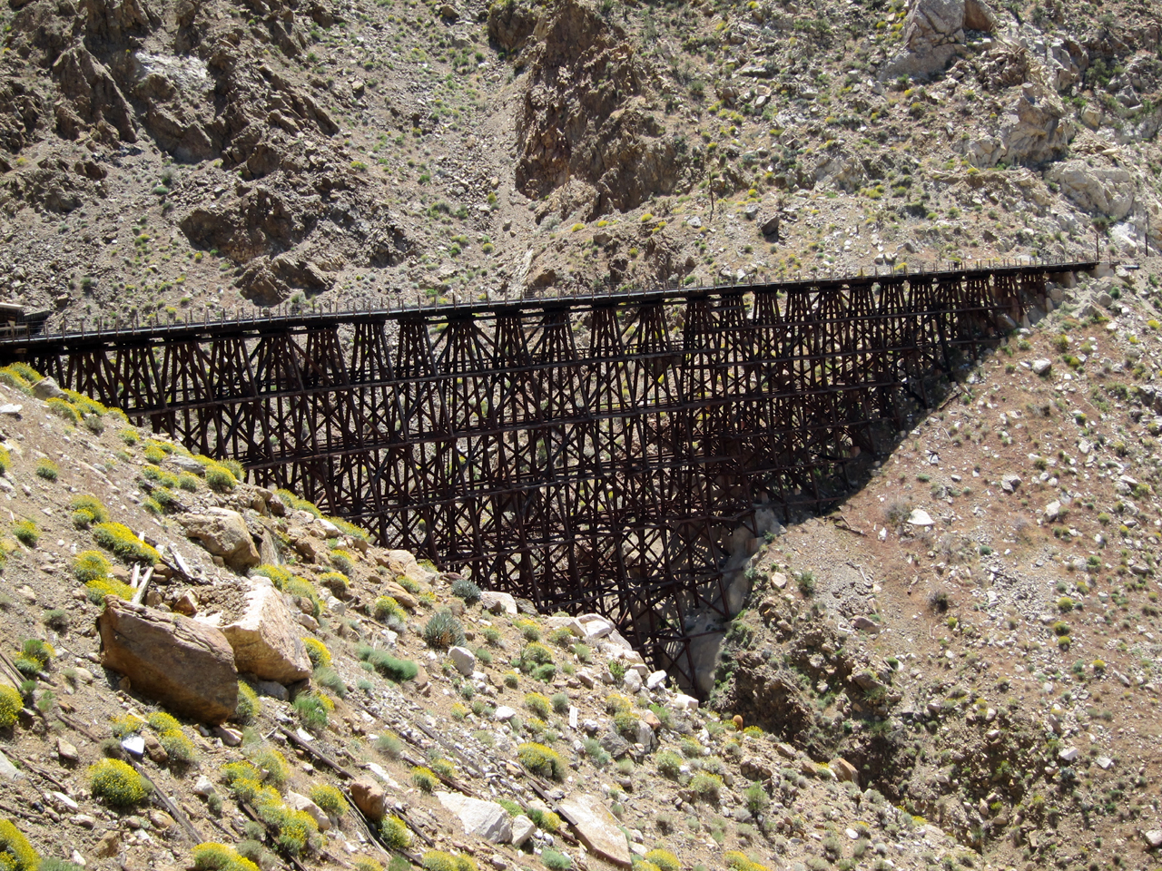 Another view of Goat Canyon Trestle