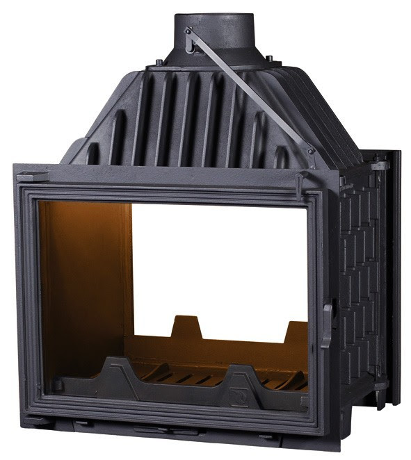 PANTHERM 62 DVOSTRANI lateral dim. 620x500 promjer dimovodne cijevi: fi150/fi200 težina ložišta:125 kg