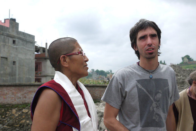 Ani.Jangsem and Osel at Kopan Nunnery, July 2011