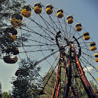 The wheel was never used, city was abandoned a few days before its opening