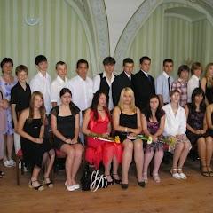 Loučení s devátou třídou 2008