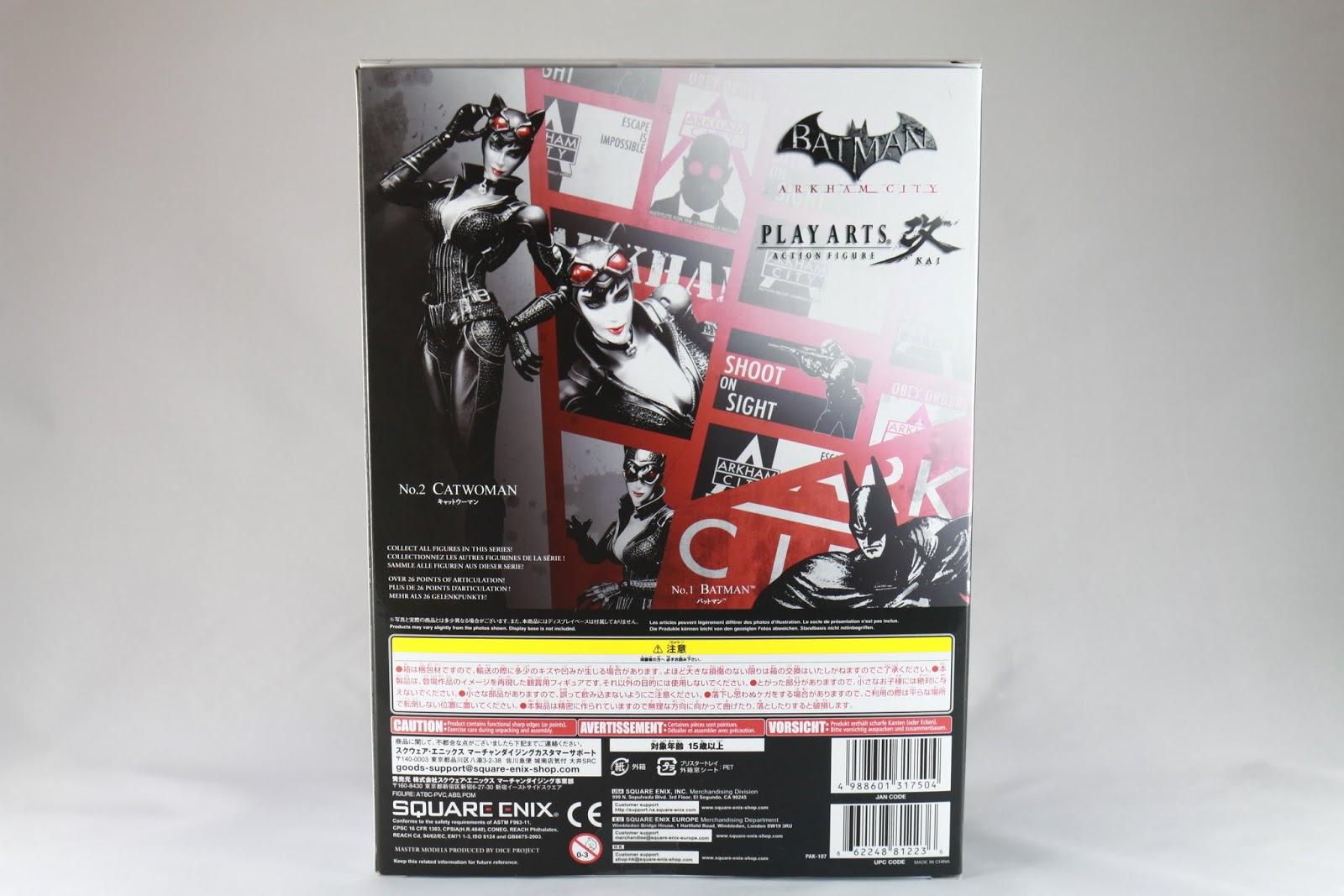 這系列大概就只有這兩支了吧 之前還有一組The Dark Knight Returns老蝙蝠俠跟遊戲裡的羅賓 但那組我沒收到 應該會等有機會再收 但我不知道那組的盒子長怎樣就是