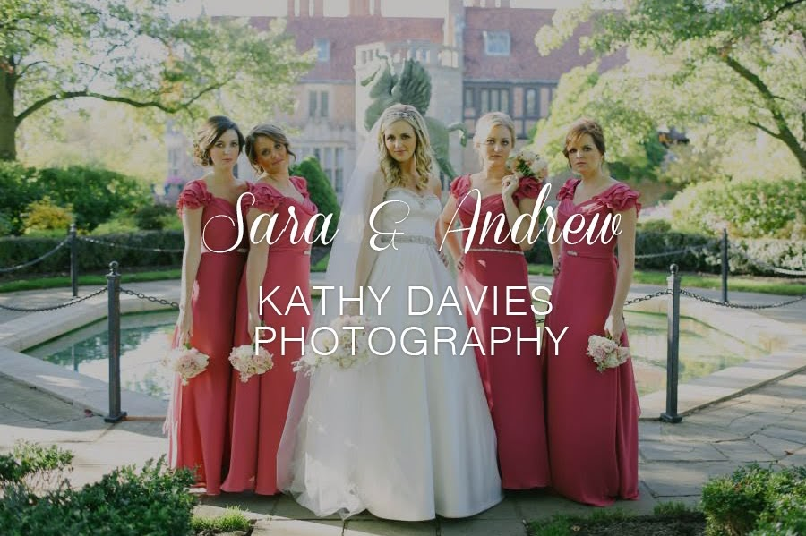 Sara & Andrew Photographed by Kathy Davies Photography