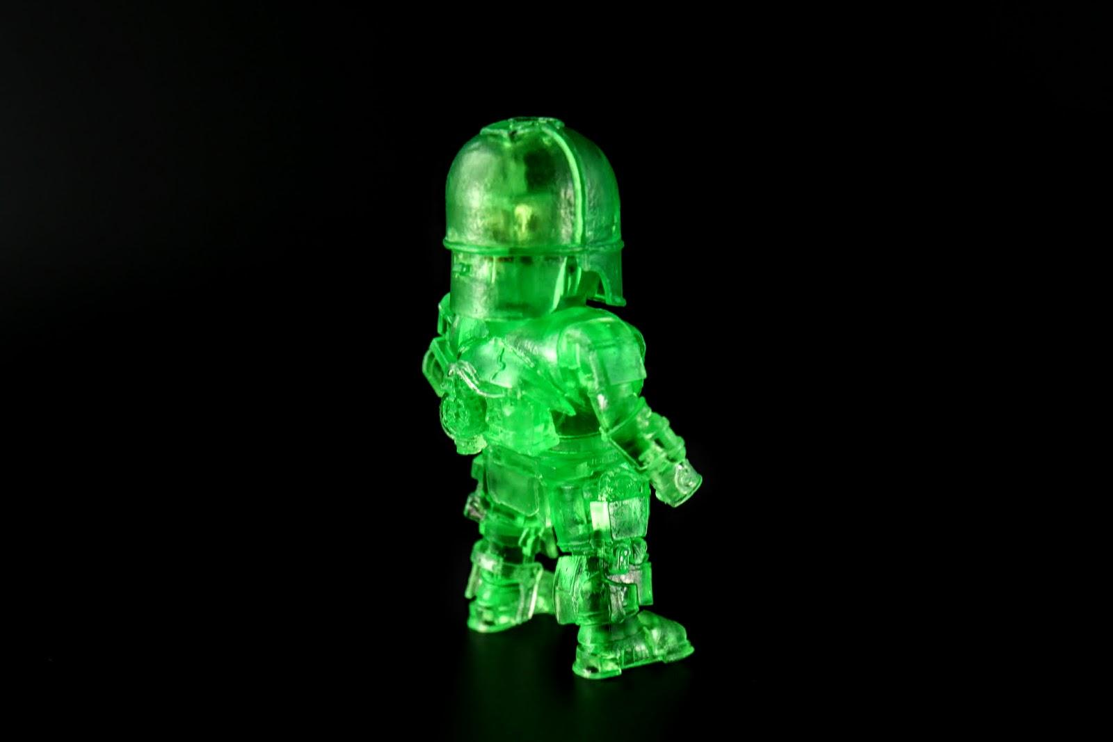 但是透明綠放在MK1上面感覺怪怪的~鬼魂嗎?