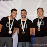 Loic Perroiun, Yohann Aby &Jean Philippe Ricordeau (vidéoman), Bronze en Freefly @ 5DIPC 2014, photo Montfortls