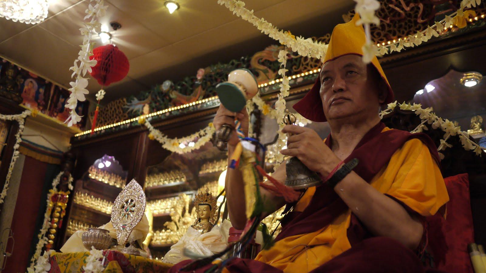 Long life puja in Hong Kong, 2010.