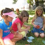 Celodenní výlet do Dobříše (5) - hrajeme hry v anglickém parku