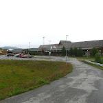 Malé liduprázdné letiště Fagernes