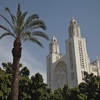 Abandoned Christian cathedral in Casablanca. This is where the city got it's name? :-)