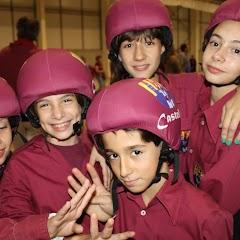 Exhibició Castellers. Anem de Marxa! 20-10-2012