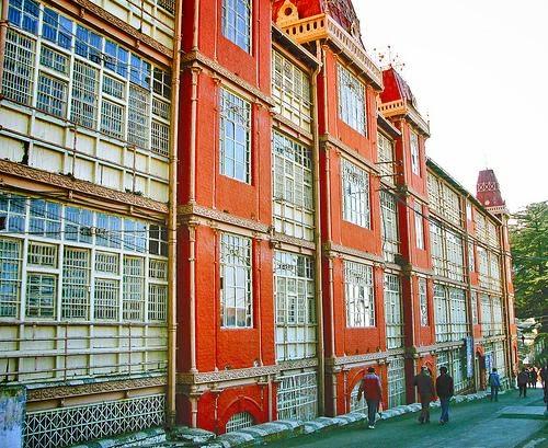 Railway board heritage building
