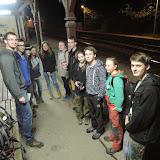 21:30, v počtu 12 účastníků vyrážíme ze Všenor