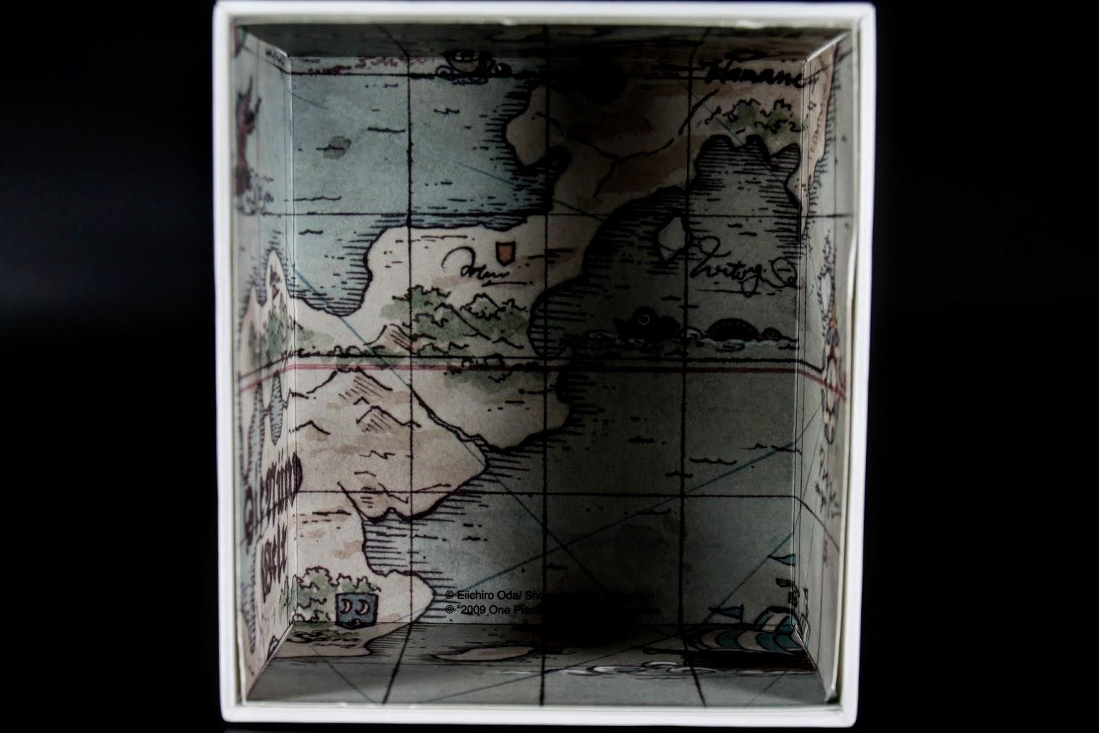 盒底是地圖~一部份的
